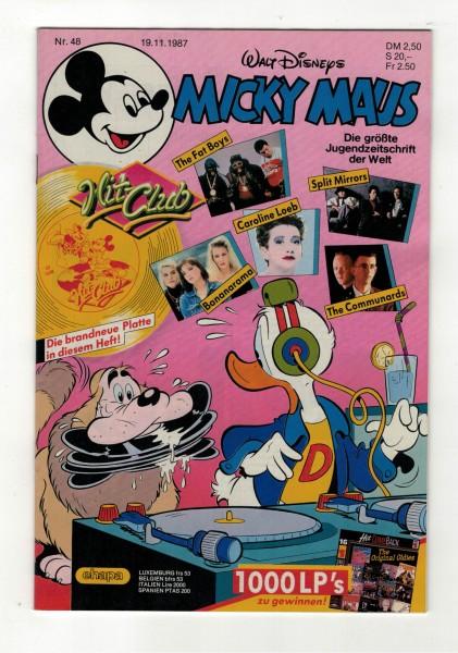 Micky Maus 1987 Nr. 48 / 19.11.1987