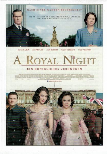 "Cinema Filmkarte ""A Royal Night"""