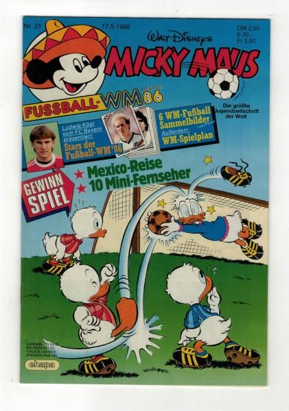 Micky Maus 1986 Nr. 21 / 17.05.1986