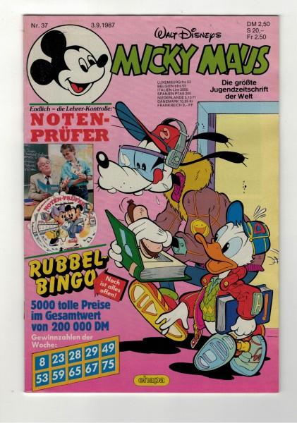 Micky Maus 1987 Nr. 37 / 03.09.1987