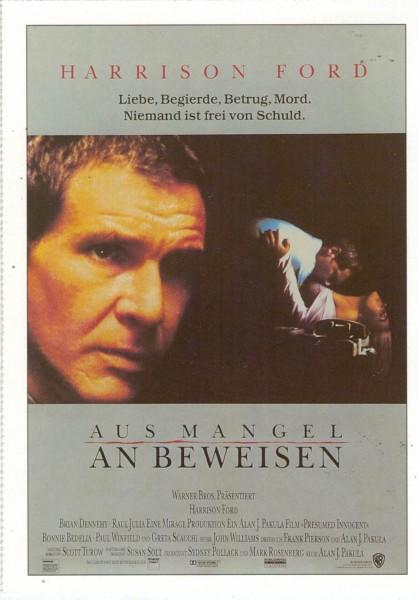 """Cinema Filmkarte """"Aus Mangel an Beweisen"""""""