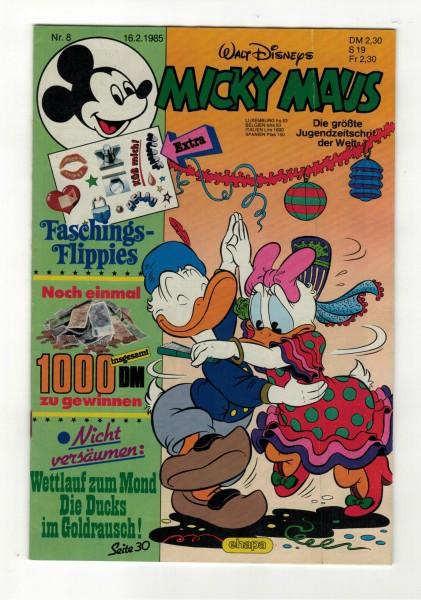 Micky Maus 1985 Nr. 08 / 16.02.1985