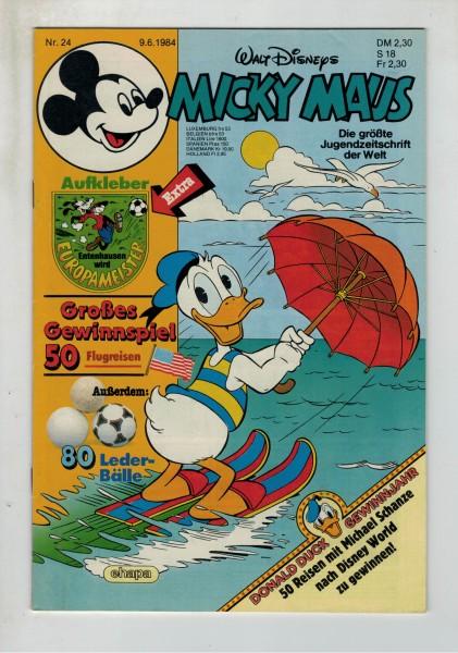 Micky Maus 1984 Nr. 24 / 09.06.1984
