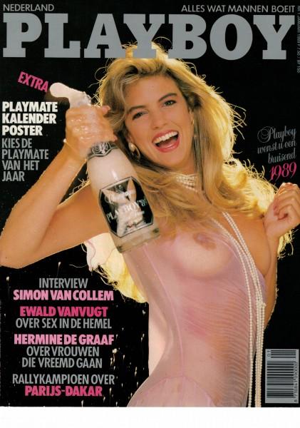 Playboy Niederlande 1989-01 Januar
