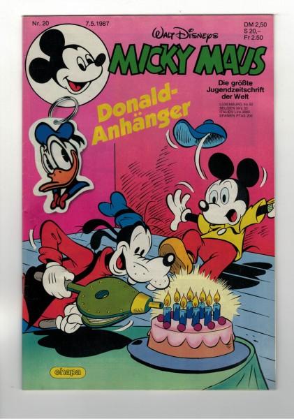 Micky Maus 1987 Nr. 20 / 07.05.1987