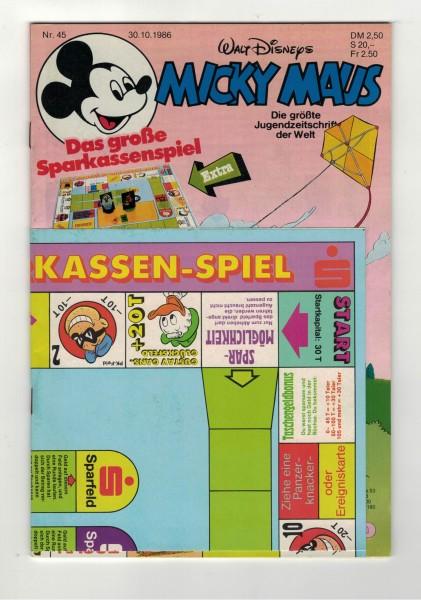 Micky Maus 1986 Nr. 45 / 30.10.1986