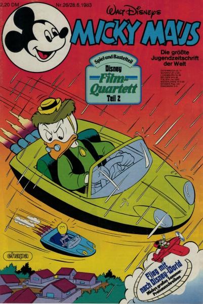 Micky Maus 1983 Nr. 26 / 28.06.1983
