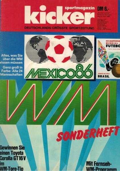 Kicker Sonderheft WM 1986
