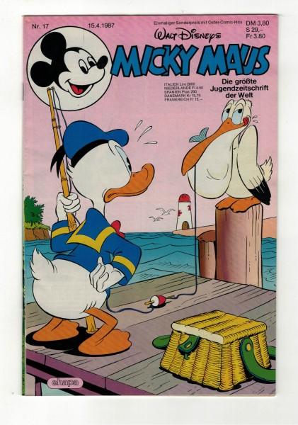 Micky Maus 1987 Nr. 17 / 15.04.1987