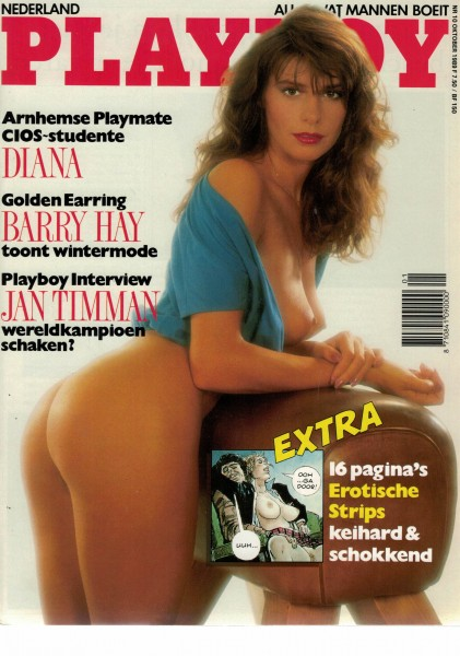 Playboy Niederlande 1989-10 Oktober
