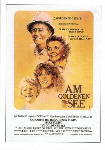 "Cinema Filmkarte ""Am goldenen See"""