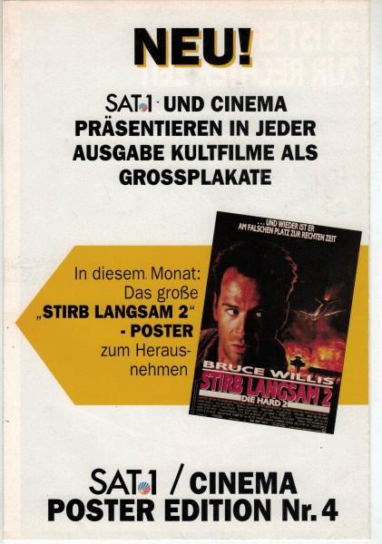 Cinema Poster Edition Nr. 04 - Stirb Langsam 2