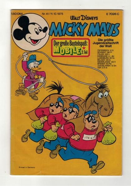 Micky Maus 1975 Nr. 41 / 11.10.1975