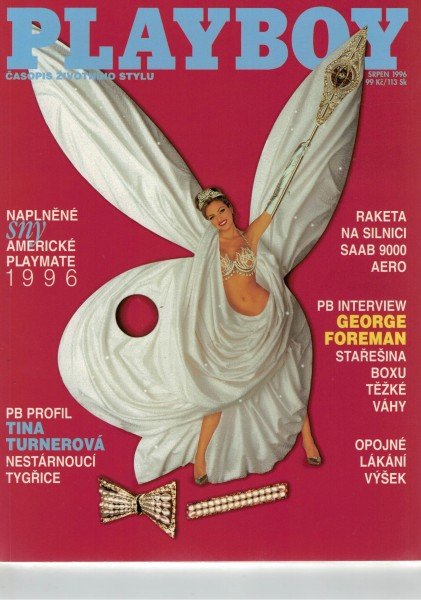 Playboy Tschechei 1996-08 August