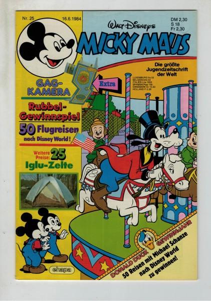 Micky Maus 1984 Nr. 25 / 16.06.1984