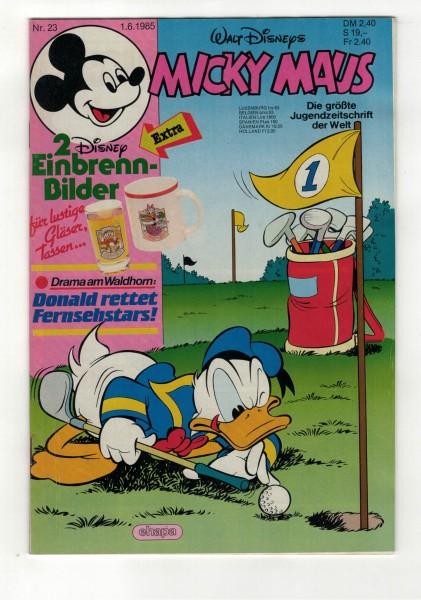 Micky Maus 1985 Nr. 23 / 01.06.1985