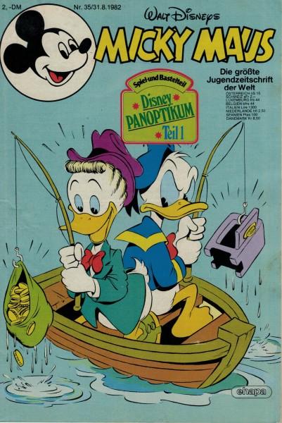 Micky Maus 1982 Nr. 35 / 31.08.1982