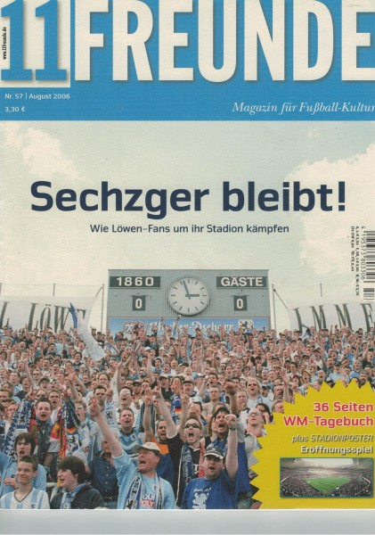 11 Freunde - Heft Nr. 057 - 08 August 2006