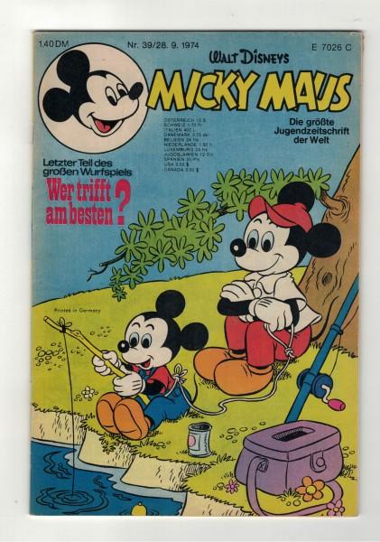 Micky Maus 1974 Nr. 39 / 28.09.1974