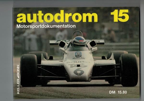 autodrom 15 - Motorsportdokumentation Ausgabe 1983