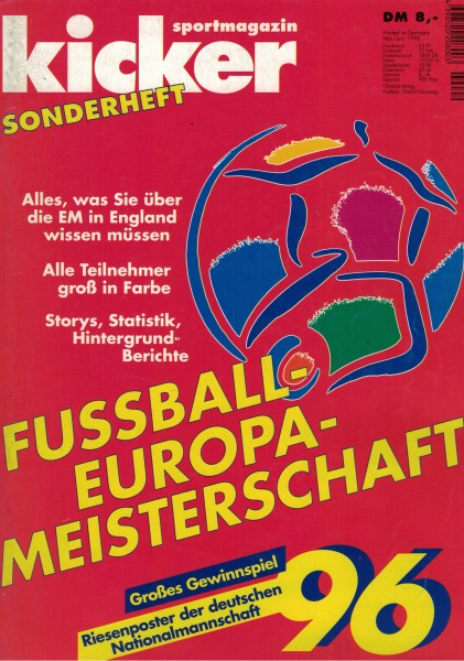 Kicker Sonderheft EURO 1996