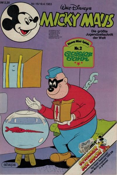 Micky Maus 1983 Nr. 16 / 19.04.1983
