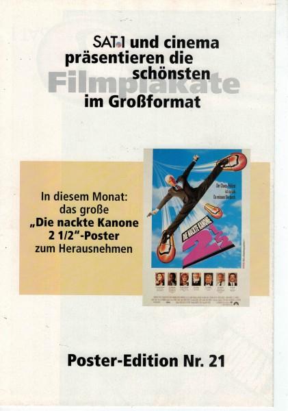 Cinema Poster Edition Nr. 21 - Die nackte Kanone 2 1/2