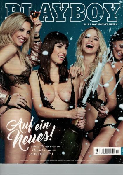 Playboy D 2017-01 Januar ABO-Cover