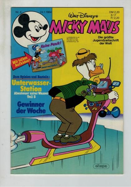Micky Maus 1984 Nr. 04 / 24.01.1984