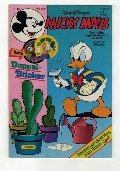 Micky Maus 1985 Nr. 10 / 02.03.1985