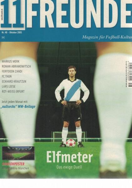 11 Freunde - Heft Nr. 048 - 10 Oktober 2005