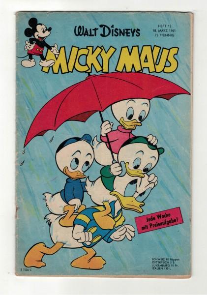 Micky Maus 1961 Nr. 12 / 18.03.1961