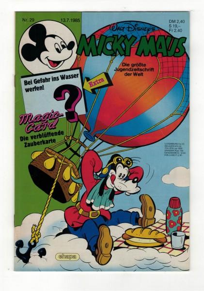 Micky Maus 1985 Nr. 29 / 13.07.1985