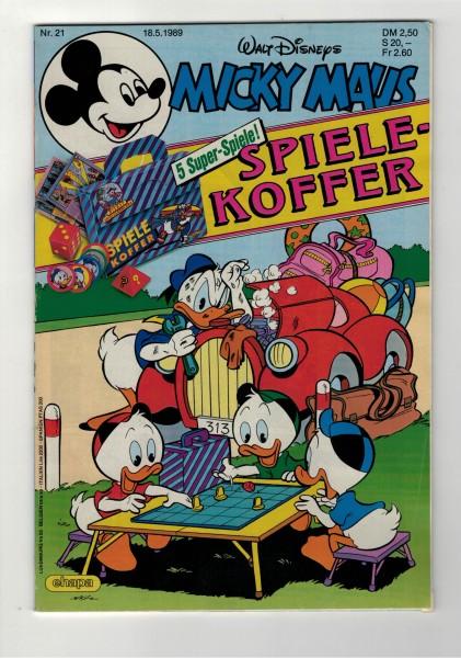 Micky Maus 1989 Nr. 21 / 18.05.1989