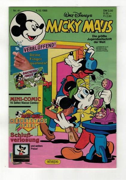 Micky Maus 1988 Nr. 41 / 06.10.1988