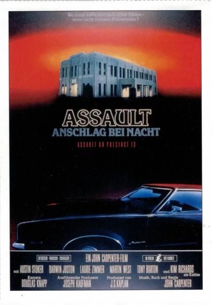 "Cinema Filmkarte ""Assault - Anschlag bei Nacht"""