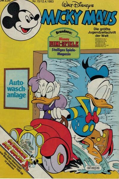Micky Maus 1983 Nr. 15 / 12.04.1983