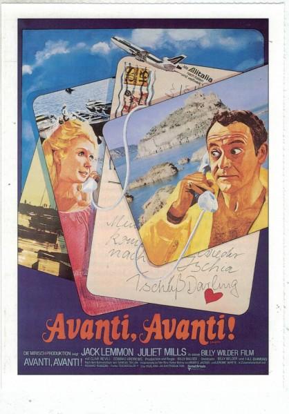 "Cinema Filmkarte ""Avanti, Avanti"""