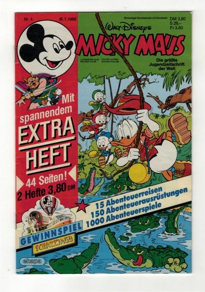 Micky Maus 1989 Nr. 04 / 18.01.1989