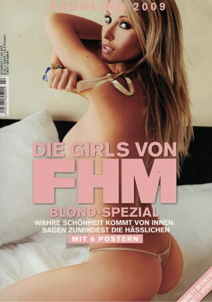 FHM - For Him Magazine - Blond-Spezial / Brünett-Spezial - Frühling 2009