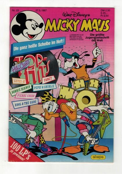 Micky Maus 1987 Nr. 23 / 27.05.1987