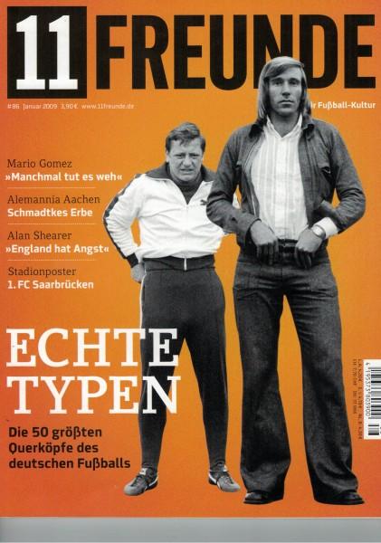11 Freunde - Heft Nr. 086 - 01 Januar 2009