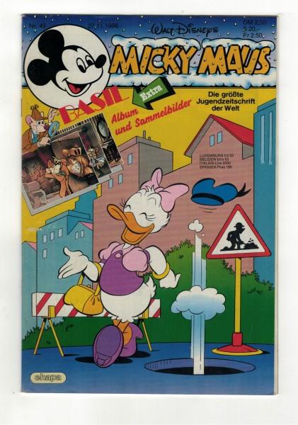 Micky Maus 1986 Nr. 49 / 27.11.1986