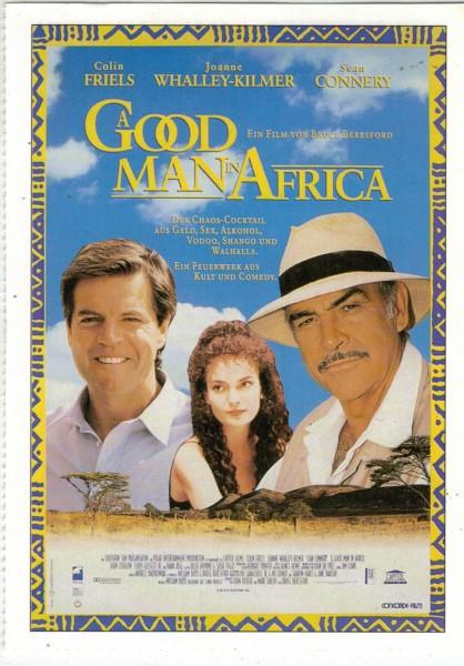 "Cinema Filmkarte ""A Good Man in Africa"""