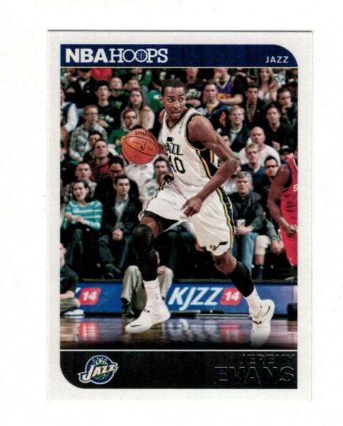 Basketballkarte - JEREMY EVANS - Panini - NBA HOOPS