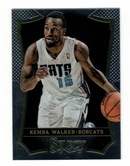 Basketballkarte - KEMBA WALKER - Panini - Select