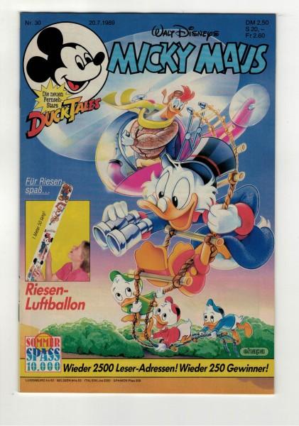Micky Maus 1989 Nr. 30 / 20.07.1989