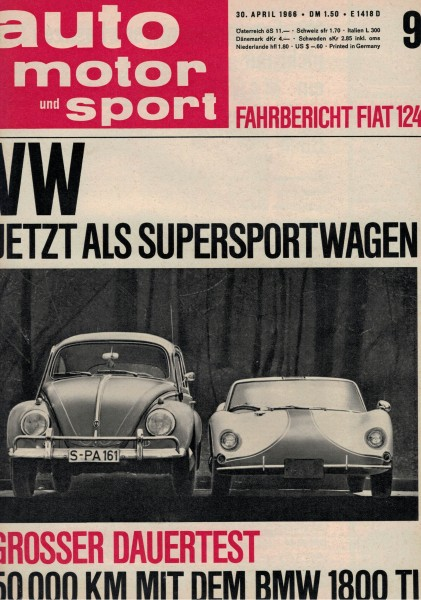 Auto Motor und Sport 1966 Heft 09-30.04.1966