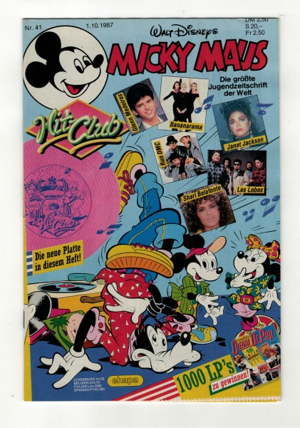 Micky Maus 1987 Nr. 41 / 01.10.1987