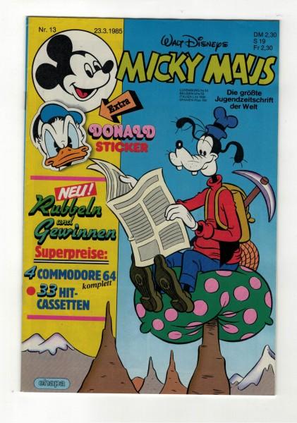 Micky Maus 1985 Nr. 13 / 23.03.1985